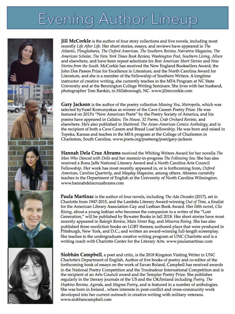 CCLF 2018 poster authors